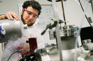 alex in lab
